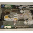 Star Wars Vehicle Y-Wing Bomber Rebel Fighter Pilot MISB Kenner Target POTF