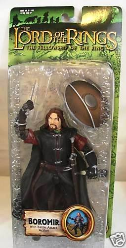 Boromir LotR 6 inch Lord of the Rings Toybiz 2004 | Gentle Giant The Hobbit