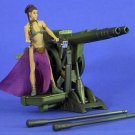 Star Wars POTJ Princess Leia Slave ROTJ Jabba Sail Barge Cannon MOC