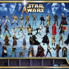 Star Wars EP2 Saga Collection Figure Poster AOTC 2002 Ltd Edition