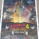 Nightmare on Elm Street Orig 80s Horror Movie Poster Freddy Wes Craven Scream