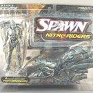 McFarlane Spawn 16 Nitro Riders Green Vapor 1:18 Motorcycle Pewter Variant Chase