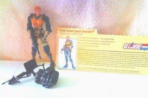 GI Joe vs Cobra Scarlett 2002 100% Complete w/FC ARAH 20th Anniversary