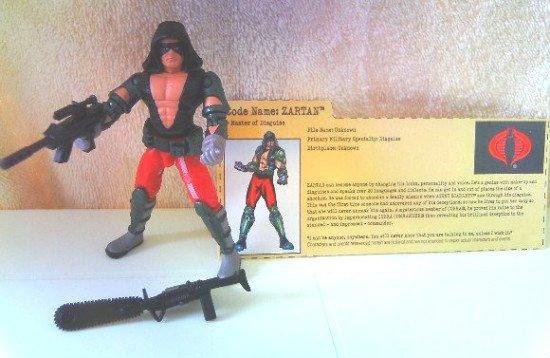 GI Joe vs Cobra Zartan 100% Complete w/FC 2002 ARAH 20th Rise