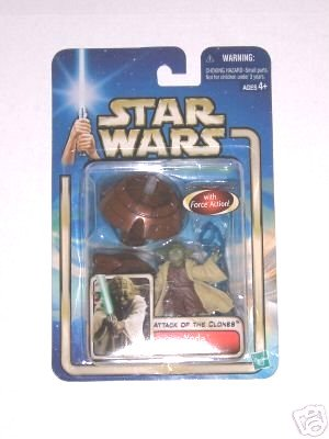 Hasbro Star Wars AotC: Yoda Jedi Master-2002 Saga Collection