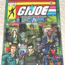 G.I. Joe Hasbro Marvel Comic 3 Pack Set 5: Steeler Flagg Cobra Officer MOC (ARAH) | 1:18 BBI Elite