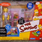 Simpsons WoS Error Variant Krusty Burger Playset| Playmates World of Springfield