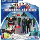 "Justice League Animated B4970 Superman vs. Lex Luthor Assault Armor Suit 4.5"" 2-Pack, 2003 Mattel"