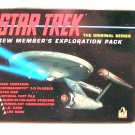 Classic Star Trek TOS Enterprise Crew Exploration Set Kit Pack OOP