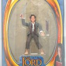 "Hobbit Bilbo Baggins with Sting lotr 6"" Lord of the Rings Figure Toybiz Gentle Giant"