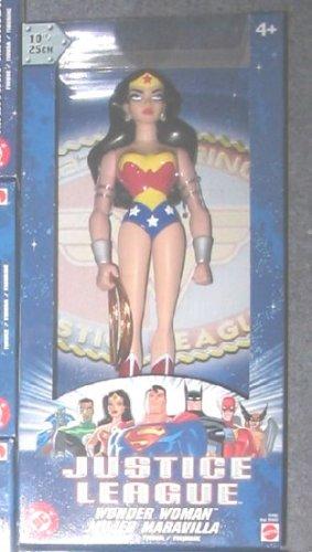 Justice League Unlimited Mattel DC 10-Inch Figure Statues, 2003 JLU