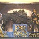 Sharku Warg Beast Rider Set Lord of the Rings Two Towers Hobbit Toybiz 2003 MISB