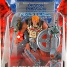 Battle Sound He-Man (Gold Armor) MotU Modern Classics + Mattel 200x Commemorative VHS Video