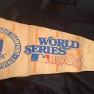 1985 World Series MLB Cardinals Royals AL Champ Pennant All Star Banner Flag