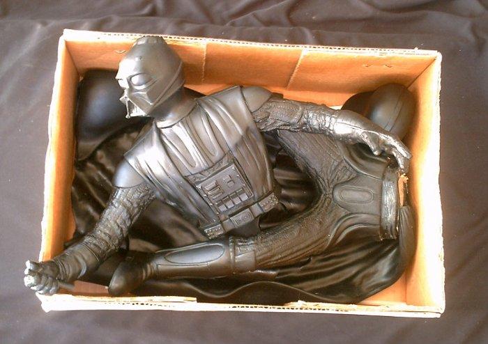 Screamin [ArtFx] Darth Vader Star Wars Vinyl Model Figure 1/4 18in Statue+Lightsaber Kit #3200