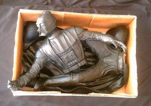 Darth Vader Vinyl Model Kit 1/4 Scale Star Wars Statue, Screamin [Artfx] figure + lightsaber