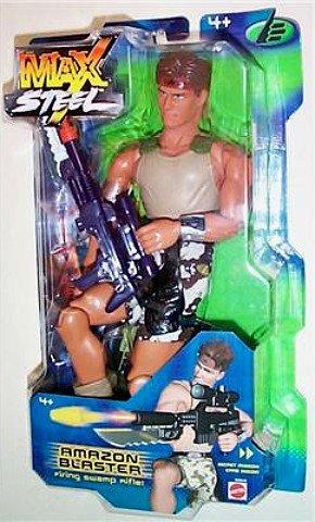 "Mattel Max Steel 50515: 2001 Mission Adventure Amazon Blaster 12"" Big Jim-Gi Joe 1/6 Scale"