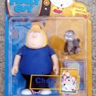 Family Guy Mezco S1 Chris Griffin Evil Monkey Vinyl Figure 1st AFA (MOC)