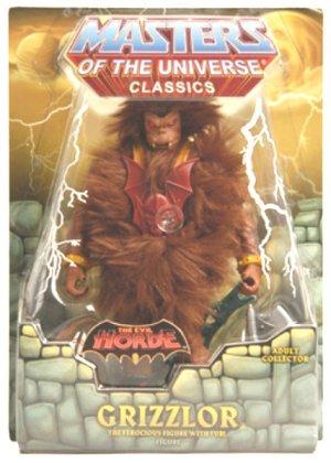 MotU Classics Grizzlor (1st)-Club Eternia-He-Man MOTUC, Matty Collector, Mattel 2009