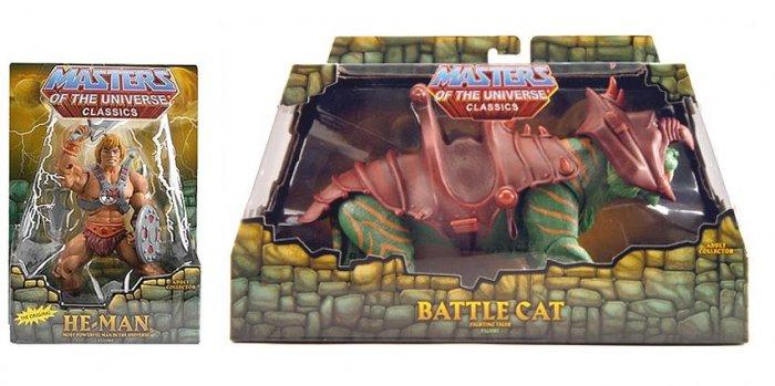 2008 MOTUC He-Man/Battle Cat (1st Issue) Matty Club Eternia MOTU Classics Mattel