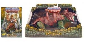 MOTUC, He-Man & BattleCat (1st Issue) Matty Club Eternia. Mattel Masters/Universe Classics 2008