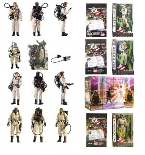 "Ghostbusters Mattel Complete Movie Collection 12"" Figure Set 1/6"