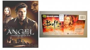 Angel Season 3 Complete| Buffy DVD| btvs 10th, Cast Panel Paley '08 Best Buy Exclusive