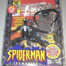 Spider-Man Classics Secret Wars Black Spiderman Figure Marvel Legends Venom Alien Symbiote Toybiz