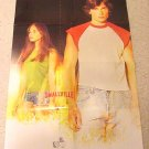 Smallville Superman Poster Advance WB 2001 DC Promo (Welling, Kreuk) 10th Anniversary
