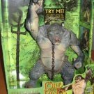 LOTR Cave Troll MISB The Hobbit Toybiz Deluxe Figure 81095 Sealed AFA