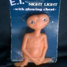 E.T. Vintage Lamp Night Light 1982 Alien Movie Toy UFO Kids Decor