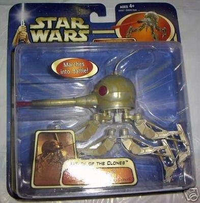 Hasbro Star Wars #84957: AotC Spider Droid Saga 2003, Clone Wars Separatist Deluxe Action Figure MOC