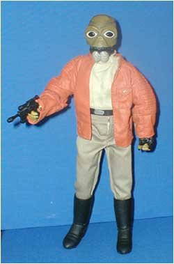 "Kenner Star Wars Walrus Man Ponda Baba 12"" Figure Cantina 1/6 Scale � Sideshow Hot Toy Medicom"