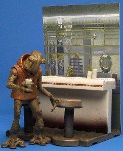 Star Wars Saga Deluxe Cantina Bar Scene Momaw Nadon Alien Mos Eisley