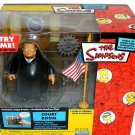 The Simpsons WoS Interactive Courtroom Playset w/ Judge Snyder • World of Springfield Collection