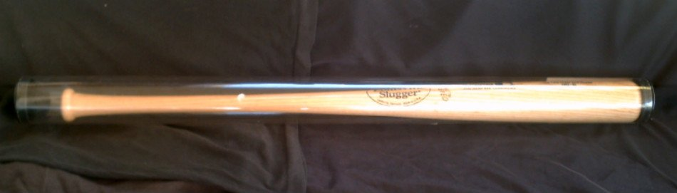1998 MLB McGwire 70 Bat, Cardinals Louisville Slugger COA_Licensed Game-Used Replica