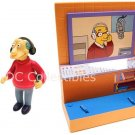 The Simpsons WoS: KBBL Interactive Playset + Marty & Bill Exclusive Figures (MIB)