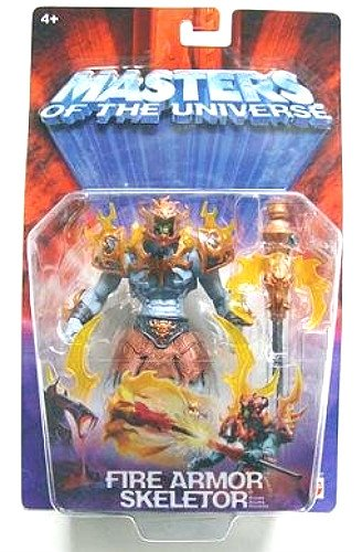 2003 Skeletor Fire Armor MOTU 200x He-Man Modern Classic Masters of the Universe