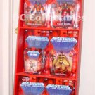 He-Man MOTU Store Display Showcase Set Huge RARE (Vintage Masters 200X MOTUC)