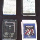 The Who-Fleetwood Mac-ELP 8 Track Tape Lot 1970s Classic Rock Pre Quad Q8