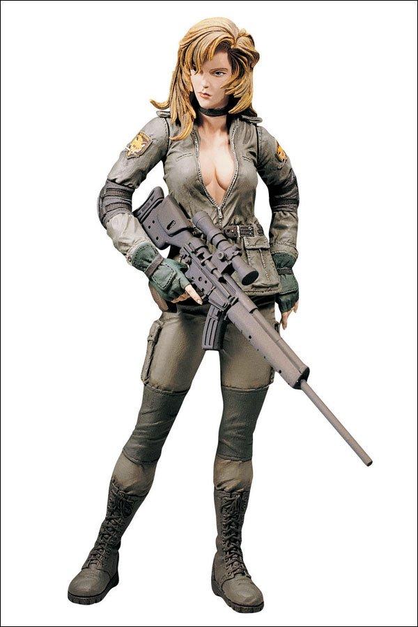 Metal Gear Solid-McFarlane Toys-Sniper Wolf-Spawn-Konami MGS Series 1 action figure