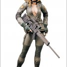 Metal Gear Solid McFarlane Toys Sniper Wolf Spawn Konami MGS Series 1 action figure