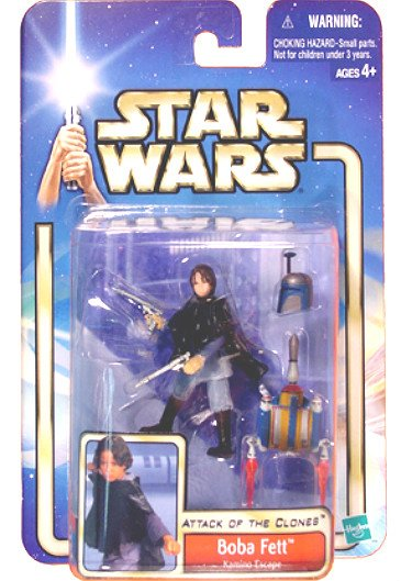 Star Wars Kamino Boba Fett (Variant) 2002 Saga/AotC MOC