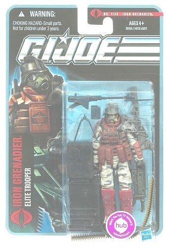 """GI Joe 30th POC Iron Grenadier (1st) Cobra Trooper Army 1120 (MOC) 3 ¾"""""""