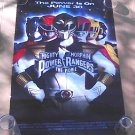 Mighty Morphin Power Rangers 1995 Advance Movie Poster Bandai Saban