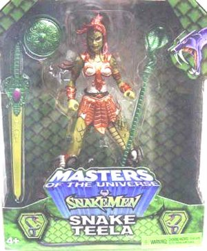 200x He-Man MOTU Snake Teela Toyfare Exclusive misb AFA +Bonus G2638