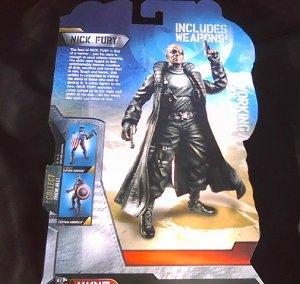 Marvel Legends Walmart Avengers Universe Captain America-Nick Fury-2011 Movie MCU (FS)