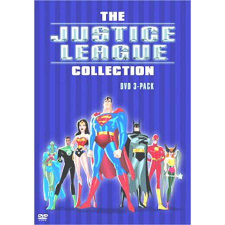 WB Justice League Complete Collection DVD BoxSet Animated Cartoons New Sealed