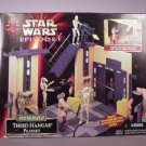 Star Wars TPM Theed Hangar Lightsaber Duel Playset Darth Maul Lot New Sealed