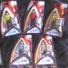 Art Asylum DST Star Trek Figures: Spock Kirk Chekov Sulu Scotty TOS Enterprise Bridge Diamond 2003